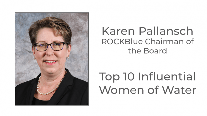 Karen Pallansch honored as one of the Top 10 Influential Women of Water