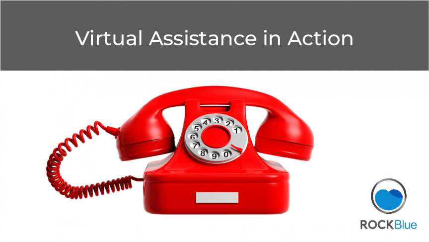 ROCKBlue - Virtual Assistance in Action