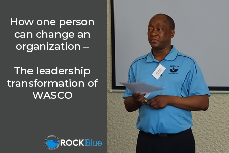 How one person can change an organization – the leadership transformation of WASCO